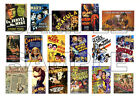 17 Vintage 1930s Movie Posters - 1:24, 1:25 Scale - 30's Hot Rod Diorama, Garage