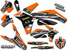 FITS KTM 2001 (with new style plastics) SX 125 250 380 400 520 GRAPHICS DECALS