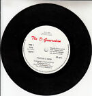 D GENERATION THE Five In A Row 7 45 rpm vinyl record + juke box title strip