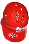 MATT CARPENTER SIGNED AUTOGRAPHED BATTING HELMET ST. LOUIS CARDINALS MLB HOLO