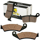 FRONT & REAR BRAKE PADS HONDA CR125R CR250R CR500R 1987 88 89 90 91 92 93 1994