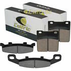 FRONT & REAR BRAKE PADS SUZUKI GS500E 1988 1989 1990 1991 1992 1993 1994 1995
