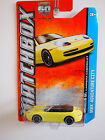 Matchbox  MBX ADVENTURE CITY PORSCE 911 CARRERA CABRIOLET YELLOW