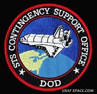 STS Contingency Support Office DOD NASA SHUTTLE USAF NON COMMERCIAL SPACE PATCH
