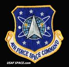 AUTHENTIC AIR FORCE SPACE COMMAND USAF PATCH on HOOK  LOOP MINT