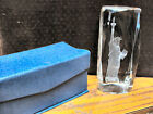 Statue of Liberty 5 inch Laser Etched Crystal paperweight with gift box NEW
