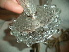 PAIR ANTIQUE CRYSTAL LAMPS-ESTIMATE AGE 1930S-1000+++  ITEMS LISTED