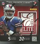 2013 Panini Elite Football Factory Sealed Hobby Box