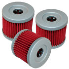 FITS SUZUKI LTZ90 LT-Z90 QUADSPORT 2007 2008 2009 OIL FILTER 3-PACK