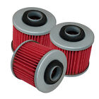 for Yamaha Xc200 Xc200Z Riva 198 200 1987 1988 1989 1990 1991 Oil Filter 3-Pack