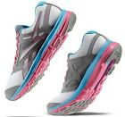 REEBOK DUAL TURBO FIRE RUNNING SNEAKERS WHITE GREY PINK NEW WOMENS SIZE 7 10
