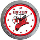 Neon Sign Hexagon Texaco Star Texas Oil garage lamp Gas Gasoline globe light