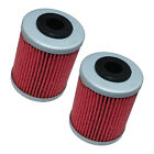 2 Pack Oil Filter FITS KTM 520 EXC-E EXC SX MXC EXC-G RACING 1999-2002