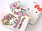 for iPhone SE 5S Cute Hello Kitty Hard TPU Rubber Silicone Gummy Skin Case Cover