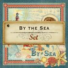 GRAPHIC 45 BY THE SEA 12X12 PAPER COLLECTION 8 SHEETS HTF SCRAPJACKS PLACE
