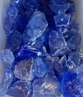 Blue Fire glass for your Gas Fireplace Gas Logs or Fire Pits Large 1 2