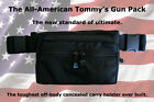 ALL AMERICAN TOMMYS GUN CONCEALMENT FANNY PACK One Size Fits ALL