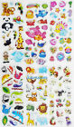 3D puffy bubble stickers scrapbook cartoon animal birthday gift collection