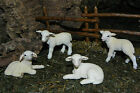 Schleich Lamb Retired Figurines Nativity Farm Animal Ovejas Pesebre Nacimientos