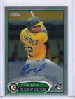 2012 Topps Chrome Baseball Autograph Rookie Variations Visual Guide 53