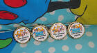 @**96 CUSTOM MADE BUBBLE GUPPIES BIRTHDAY KISS CANDY FAVOR LABELS**@