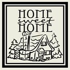 HOME SWEET HOME COTTAGE Wall Decal Wall Sticker Home and Living Wall Art Decal