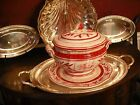Fitz & Floyd Town and Country soup tureen: covered bowl with platter NEW & IOB