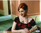 Christina Hendricks Mad Men Firefly Signed Autograph 8x10 Photo PSA DNA COA