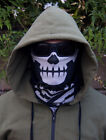 Milspec Monkey MSM SKULL FACE Mask Multi Wrap Head Gear - URBAN SWAT BLACK