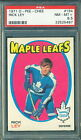 1971 72 OPC #194 RICK LEY PSA 8.5 NM-MT+ MAPLE LEAFS