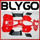 RED Plastics Fairing Fenders Guards Cover Kit 50cc 70cc 110cc Quad Dirt Bike ATV