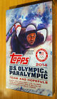 2014 Topps U.S. Olympic & Paralympic & Hopefuls Hobby Box Autos Relic 24 Packs