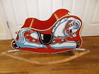 Vintage 1940's Cass Toys, NY ~ Infant Bouncy Rocking Horse .
