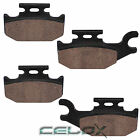 Front Brake Pads For Suzuki King Quad 400 AS KLTA 400 2008 2009