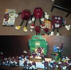 RARE HARDEE'S STORE DISPLAY + CALIFORNIA RAISINS LOT _+_ NO FAIR OFFER REFUSED!
