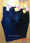 Womens Super Comfort Maternity Skinny Jeans Denim Elasticated Trouser BNWT