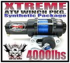 4000LB ATV Winch 4000LB Polaris Kit Sportsman 05-10 NEW