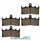 Front Brake Pads For Suzuki GSX-R1100W GSXR1100W 1993 1994 1995 1996 1997 1998