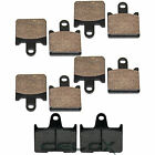 Front Rear Brake Pads for Kawasaki Concours 14 Concours 14 ABS ZG1400 2008-2018