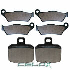 Front Rear Brake Pads For Gilera Nexus 500IE 2003 2004 2005 2006 2007 2008-2013