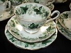ROYAL ALBERT IVY LEA TEA CUP AND SAUCER TRIO PLATE AVON SMOOTH TIP