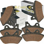 FRONT REAR BRAKE PADS FITS HARLEY DAVIDSON FXSTSi 1450 Springer Softail 2005 06