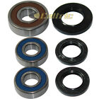 REAR WHEEL BALL BEARINGS & SEALS KIT Fits SUZUKI GSX-R1100 GSXR1100 1986-1992