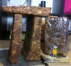 10 lbs Natural Raw African Black Soap, Organic, Unrefined from Ghana West Africa