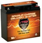 VMAX 600 Scooter/Moped AGM SLA VLRA 12V 20Ah Battery replaces Universal UB12180