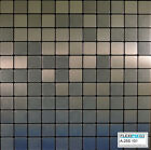 FlexiPixTile-Aluminum Peel & Stick Mosaic Tile Kitchen Backsplash Bath - FROZEN