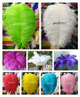 wholesale 20 200pcs natural ostrich feathers 14 16inch 35 40cm