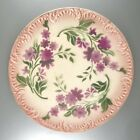 "Antique French Porcelain Plate, ""Digoin & Sarreguemines"", Late 19th Century"
