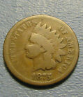 1875 INDIAN HEAD CENT FROM PENNY COLLECTION