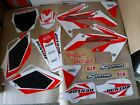 TEAM HONDA  GRAPHICS & NUMBER PLATE BACKGROUNDS  CRF250R  CRF250  2004  2005